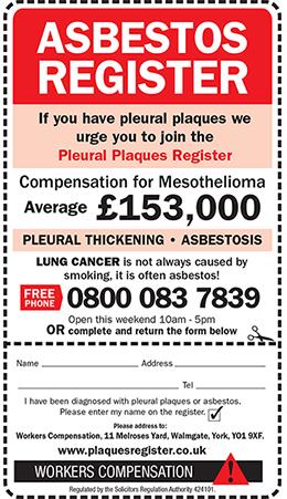 Asbestos Claims  Corries Solicitors Ltd